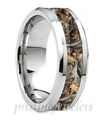 mens camo wedding rings titanium mens camouflage ring silver mossy oak camo