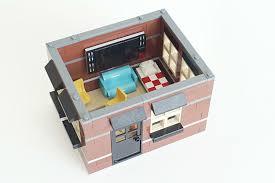 Ice Cream Shop Floor Plan Lego Ideas Modular Ice Cream Parlor