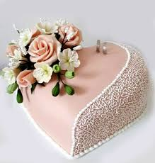 engagement cakes heart shaped engagement cake with roses 2kg sri lanka online