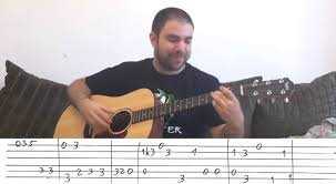 tutorial virtual guitar fingerstyle tutorial stand by me w tab guitar lesson