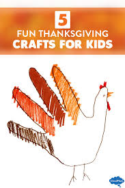 5 and easy thanksgiving crafts for cloudmom
