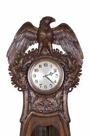 Contemporary Grandfather Clock A Swiss Black Forest Grandfather Clock Circa 1900 Daniels Antiques