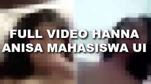 askfm hanaanisa ini dia full video hanna anisa mahasiswa ui youtube