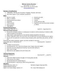 Sample Childcare Resume by Michele Audrey Shumsky Childcare Resume Linked In