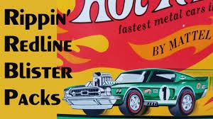 Redline Muscle Cars - rippin u0027 redline blister packs u2013 video 200 u2013 march 23 2017 youtube