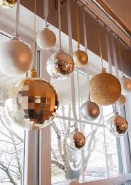 And Gold Glass Ornaments Charming Silver And Gold Glass Ornaments Hung From Matching