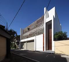 Contemporary Architecture Characteristics by Architecture Home Exterior Design Square House Transparent Glazing