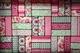 michael miller pinks blossom quilt vanilla