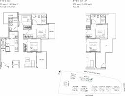 sqm to sqft the glades condo floor plan 3br suite c7 95 sqm 1023 sqft