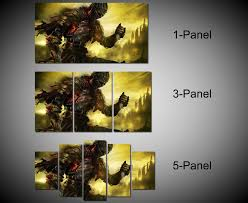 framed dark souls 3 video games wall canvas art ready to