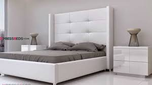 White Modern Victoria Bed Interior Design In Miami Florida - Modern furniture miami