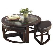round coffee table with 4 stools marion round coffee table with 4 stools adams furniture