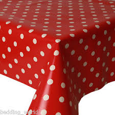 red white polka dot table covers pvc table cloth polka dot red white spots wipe clean protector
