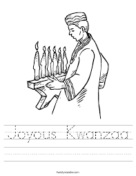 kwanzaa worksheet free worksheets library download and print