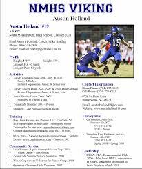 resume template sle 2017 ncaa athletic resume template sle resume for college coach athletic vb