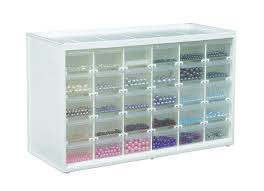 Lego Storage Containers Amazon - amazon com artbin store in drawer cabinet 30 art and craft