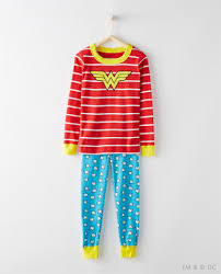 justice league pajamas in organic cotton