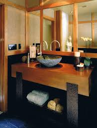 Oriental Bathroom Vanity Delightful Asian Bathroom Vanities With Storage Baskets Vessel