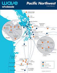 Washington Coast Map Regional Pops Wave Business Solutions
