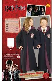 hermione granger halloween costumes amazon com deluxe child u0027s harry potter robe with gryffindor