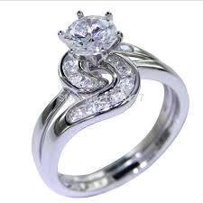 Sterling Silver Wedding Ring Sets by Compare Prices On Silver Wedding Ring Set Online Shopping Buy Low