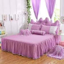 Girls Bed Skirt by Girls Bedding Sets White Lace Ruffle Duvet Cover Set Princess Bed