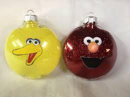 sesame street christmas ornaments doliquid