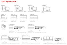 Squadroletto Sofa Bed Modern Sofa Beds Contemporary Furniture - Sofa bed dimensions