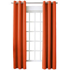 Jcpenney Living Room Curtains Orange Curtains U0026 Drapes For Window Jcpenney