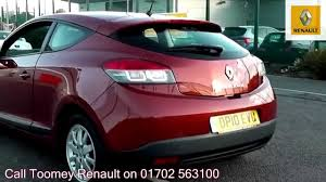 renault orange 2010 renault megane coupe expression 1 6l orange dp10evu for sale