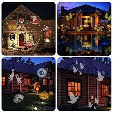 halloween spotlights amazon com zsl halloween christmas projector lights with remote