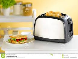Images Of Bread Toaster Bread Toaster In The Kitchen Stock Photo Image 19513642