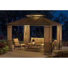 Sunjoy Industries Patio Heater by Sunjoy Santa Barbara Gazebo Walmart Com