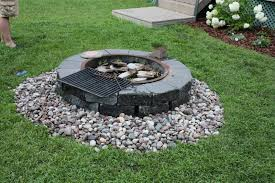Firepit Rock Mandy In Minneapoland Rock Project Done Finally