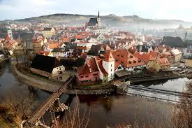 quaint river town