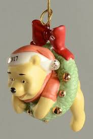 lenox annual pooh ornaments at replacements ltd