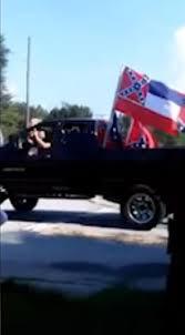 Truck With Rebel Flag Confederate Flag Wavers Crash Black Child U0027s Birthday Party Ny