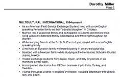 Esl Sample Resume by Wondrous Design Ideas Sample Resume For Teachers 15 Chronological