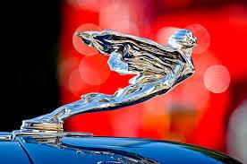 1935 cadillac v 12 convertible sedan ornament ornament