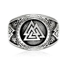 Viking Wedding Rings by Viking Rings Norse Wedding Ring For Sale Mjolnir Ring For Men