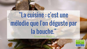 citation sur la cuisine citation la cuisine c est une mélodie que l on déguste