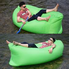 Blow Up Sofa Bed by Inflatable Sofa Air Bed Chair Seat Blow Up Lounger Bag Festival