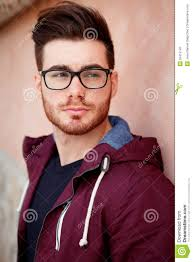 cool handsome guy with glasses stock photo image 52415143
