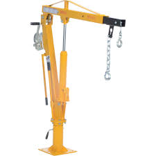 pickup truck cranes truck jib cranes hand chain hoists