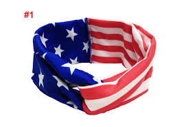 4th of july headbands american headband 4th of july headband usa turban headbands