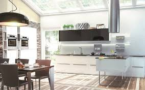 weisse hochglanz küche hochglanzküche leonardo in schwarz weiß beckermann
