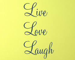 live love laugh vertical cursive live love laugh wall decal trading phrases