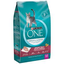 purina one urinary tract health formula premium cat food 3 5