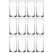 Hurricane Vases Bulk Amazon Com Libbey Cylinder Vase 9 Inch Clear Set Of 12 Home