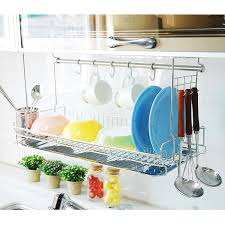 over the sink dish drying rack wall mounted dish drying rack over the sink from dae myung i nex